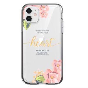 COPY - 2/$10 iPhone 11 Pro Max Case Clear Flower …